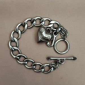 Juicy Couture Heart Bracelet